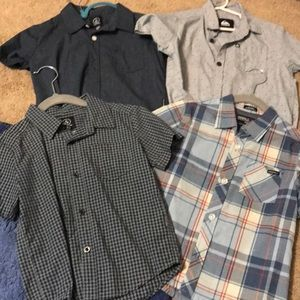 Boys shirts Volcom/ O'Neill/ quicksilver size 4